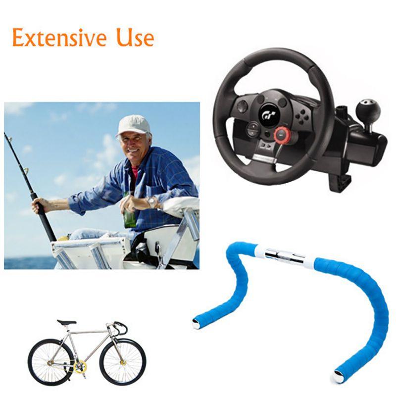 1 Pair Road Bike Bicycle Handlebar Bar Grip Wrap Ribbon Tape 2 Bar Plugs SV
