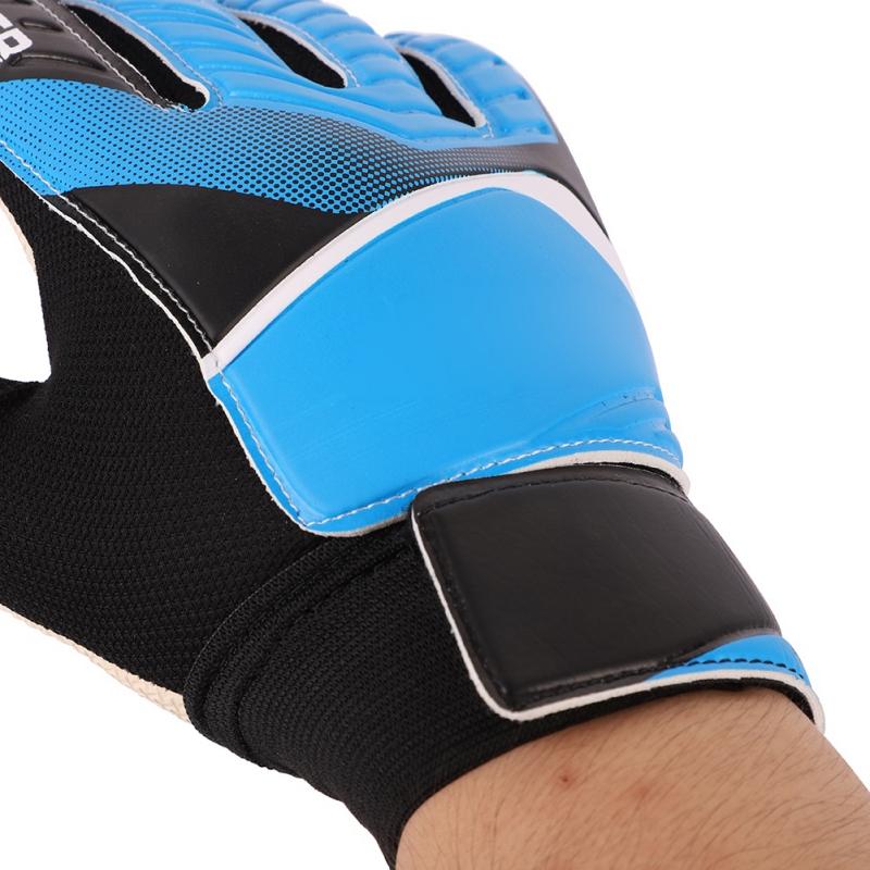 Kids-Adults-Teen-Sport-Football-Goalkeeper-Gloves-Goalie-Finger-Protector-Soccer thumbnail 8